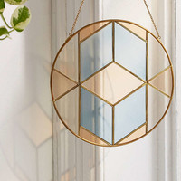 Lilley Stained Glass Window Hanging | Urban Outfitters