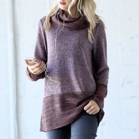 Cozy Delights Sweater - Purple
