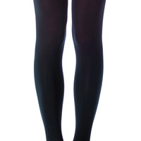 House of Holland x Pretty Polly Super Suspender Tights Black One