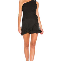 Line & Dot Bobby Dress in Black