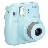 FujiFilm Instax Mini 8 with Strap and Batteries (Blue)