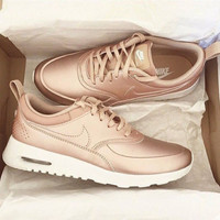 Nike Women's Air Max Thea SE Red Bronze (Rose Gold)