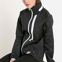 Nike Moto Zip Top Cape Jacket in Black - Urban Outfitters