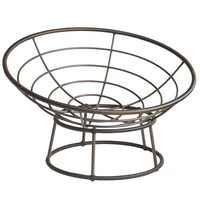 Outdoor Mocha Papasan Chair Bowl