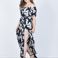 Plus Size Julia Floral Dress