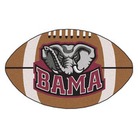 Alabama Crimson Tide NCAA Football Floor Mat (22x35)