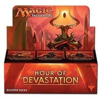 Magic The Gathering MTG Hour of Devastation Sealed Booster Box 36 Packs IN-HAND
