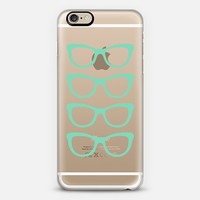 Mint Eyes Transparent iPhone 6 case by Project M | Casetify