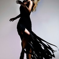 Kate Moss for Topshop Splice Skirt Maxi Dress (Online Only)
