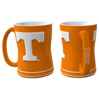 Tennessee Volunteers NCAA Coffee Mug - 15oz Sculpted (Single Mug)