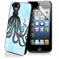 Octopus Design iPhone Case And Samsung Galaxy Case