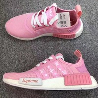 Suprem Adidas NMD LV Trend sports casual shoes