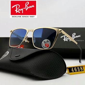 Ray Ban Trending Unisex Stylish Summer Style Sunglasses Sun Shades Eyeglasses Glasses Sunglasses Purplish Blue I-A-SDYJ