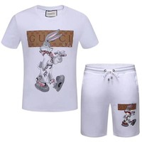 GUCCI men's short sleeve suit 009