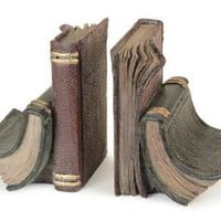 4 Bookends - Faux Leather