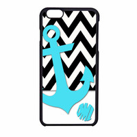Chevron Anchor Personalized iPhone 6 Case