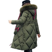 Big fur winter coat