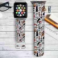 Studio Ghibli Characters Custom Apple Watch Band Leather Strap Wrist Band Replacement 38mm 42mm