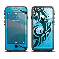 The Vector Blue Abstract Fish Apple iPhone 6/6s LifeProof Fre Case Skin Set