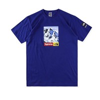 spbest Supreme X The North Face Mountain T-Shirt