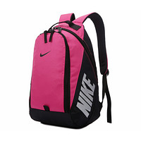 NIKE 2018 new backpack couple backpack sports travel leisure computer backpack F0522-1 Rose red