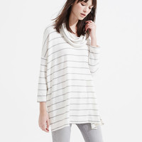 Lou & Grey Striped Signaturesoft Cowl Tunic | LOFT