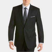 Michael Kors Black Stripe Modern Fit Suit - Modern Fit | Men's Wearhouse