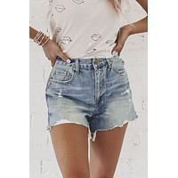 PISTOLA Nova Relaxed High Rise Cut Offs