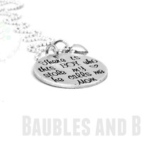 Mother & Son Necklace