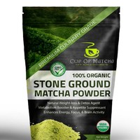 Organic Matcha Green Tea Powder 3.5 oz (100g) - Everyday Matcha - GMO Free