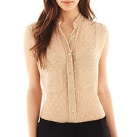 MNG by Mango® Peasant Blouse