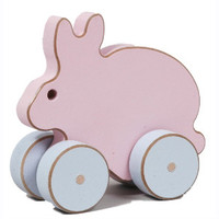 Pastel Toy Rabbit Car