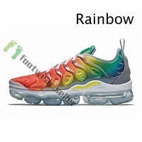 2020 Rainbow Mens Trainers Women Stock Cushion Running Shoes