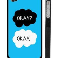 The Fault in Our Stars iPhone 4 4s Case - Okay? Okay iPhone 4s Cover