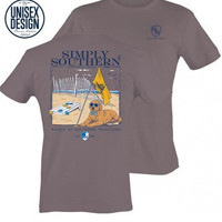 """Simply Southern Unisex """"Southern Traditions"""" Tee - Steel"""