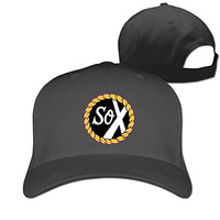RTYUUIO Unisex Chance The Rapper Sox Baseball Cap Black One Size