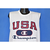 90s USA Olympic Basketball team Tank Top '96 t-shirt Medium