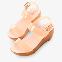 Pink Jelly Wedges