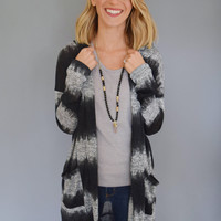 Aurora Stripe Knit Cardigan