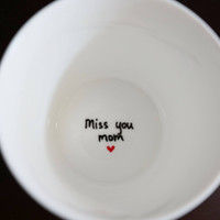 Miss You Mom Coffee Mug, Mothers Day Gift for Mom
