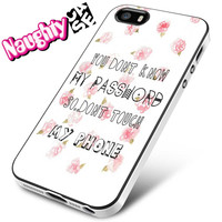 Dont Touch My Phone iPhone 4s iphone 5 iphone 5s iphone 6 case, Samsung s3 samsung s4 samsung s5 note 3 note 4 case, iPod 4 5 Case