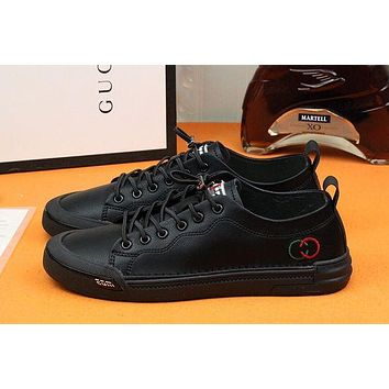 Gucci Men Fashion Boots fashionable Casual leather Breathable Sneakers Running Shoes-753
