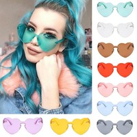 Burnin Love Colored Sunglasses
