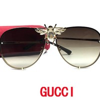 GUCCI sunglass women sunglasses case sunglasses oversized