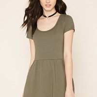 Two-Pocket Fit and Flare Dress