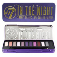 "W7 - ""In The Night"" Smokey Shades - Eye Colour Palette 12 in 1 Eyeshadow Palette"