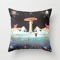 Love Song Throw Pillow by Antonio Jader