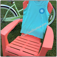 Comfort Colors Monogram Tank Top Monogram Tank in Solid and Glitter Vinyl  Monogram Tanktop Monogrammed Tank  Top Monogrammed Gifts