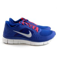 Nike Free Run 3 Blue/Red/White Running Womens Shoes Sneakers 510643 416 (8): Shoes