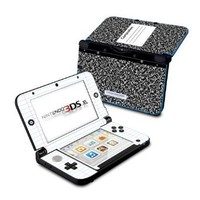 Composition Notebook Design Protective Decal Skin Sticker (High Gloss Coating) for Nintendo 3DS XL Handheld Gaming System